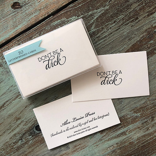 Dick Insult Cards