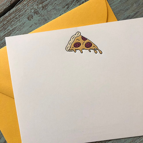Pizza Notecard