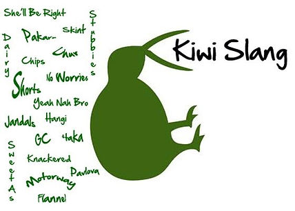 Kiwi the bird and lots of slang words