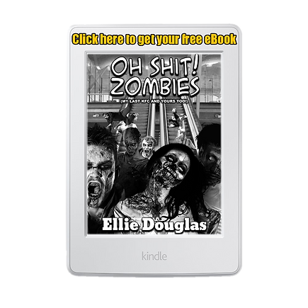 Book Cover zombies in black and white