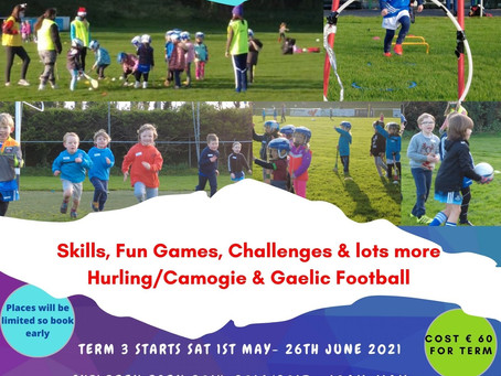 Allcare Skerries Harps Academy returns Saturday May 1st!