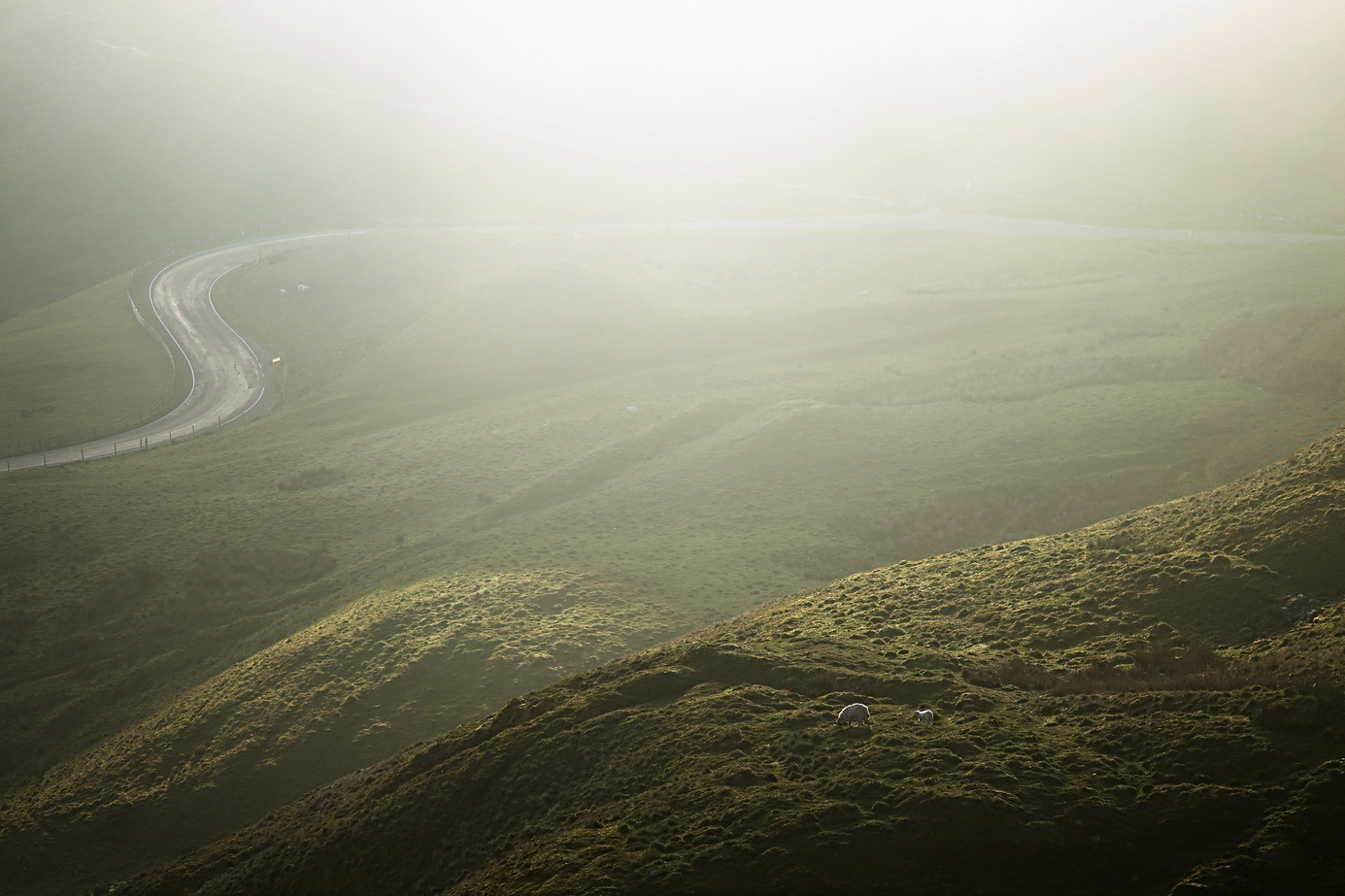 First Light at Edale