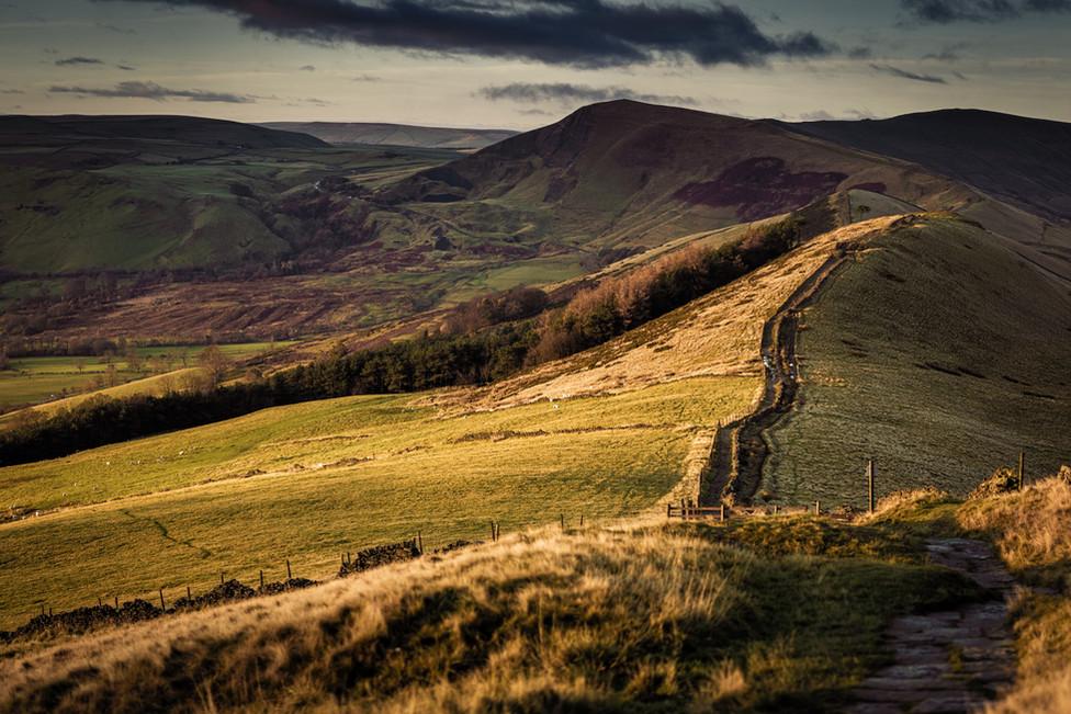 A quiet morning on a well trodden path