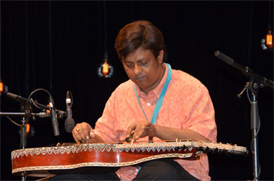 Indian musician Debashish Bhattacharya brings his unusual guitars to the Sydney Festival