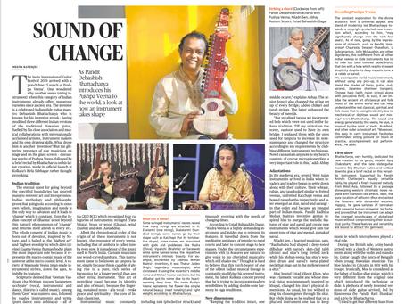 SOUND OF CHANGE: Pushpa Veena Press Release