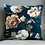 Thumbnail: Flora Vintage Velvet Cushion