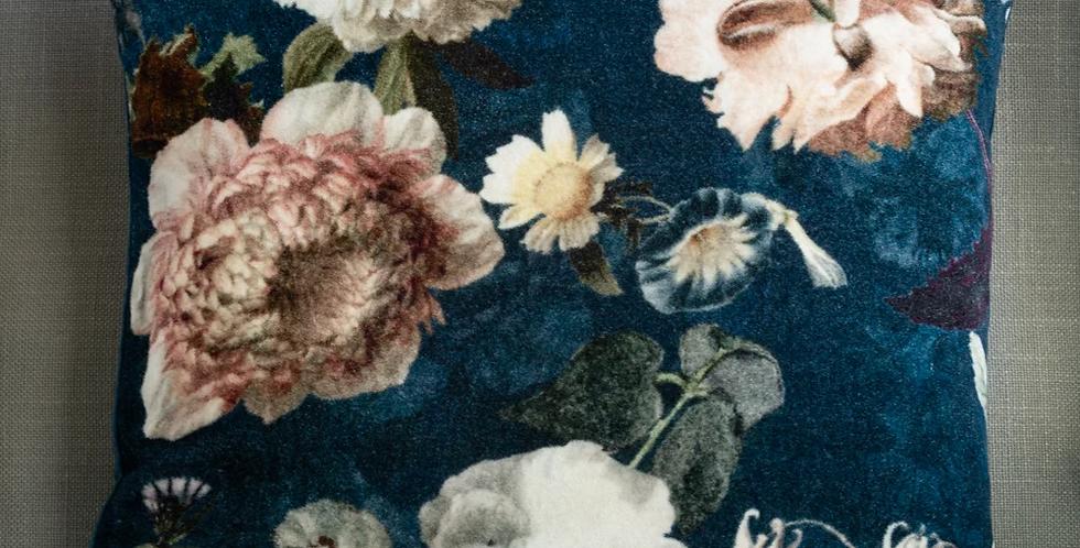 Flora Vintage Velvet Cushion