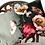Thumbnail: Vintage Poppy Velvet Cushion