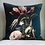 Thumbnail: Vintage Flowers Velvet Cushion