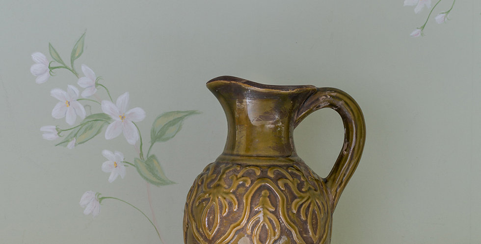 Ceramic Spanish Inspired Jug