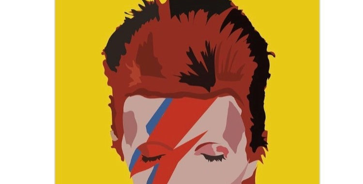 David Bowie (Ziggy) Print