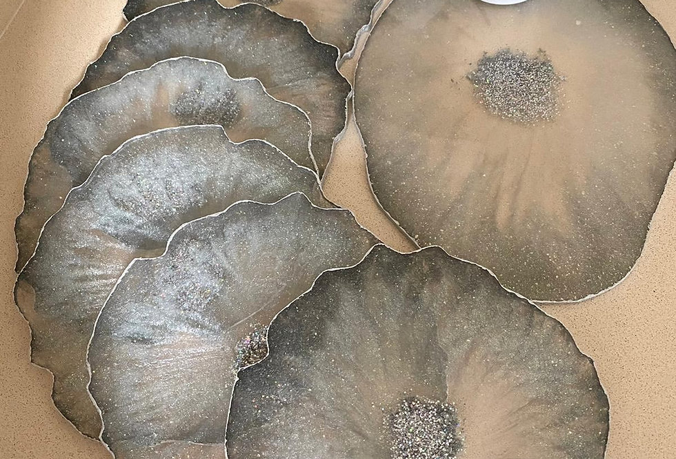 Agate Round Placemats