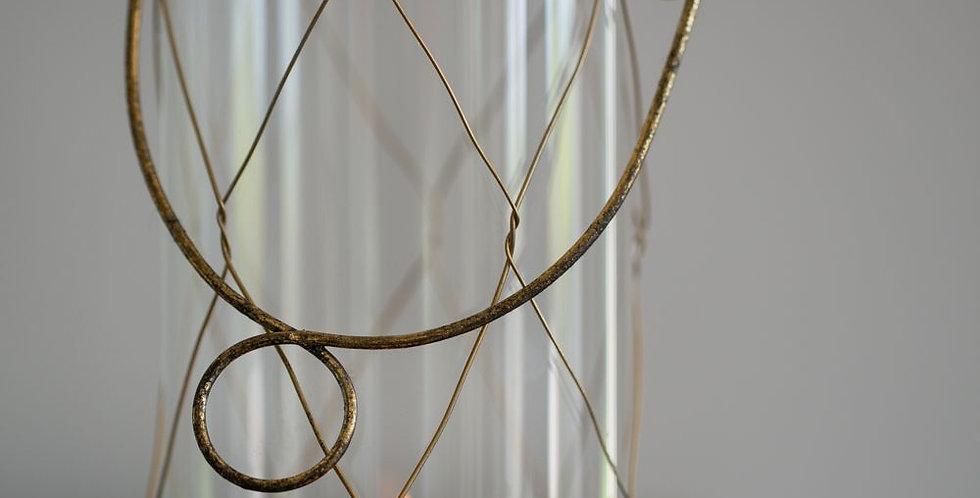 Rustic Wire Votive