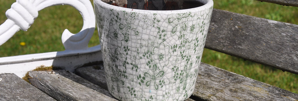Old Style Dutch Pots Green Flora