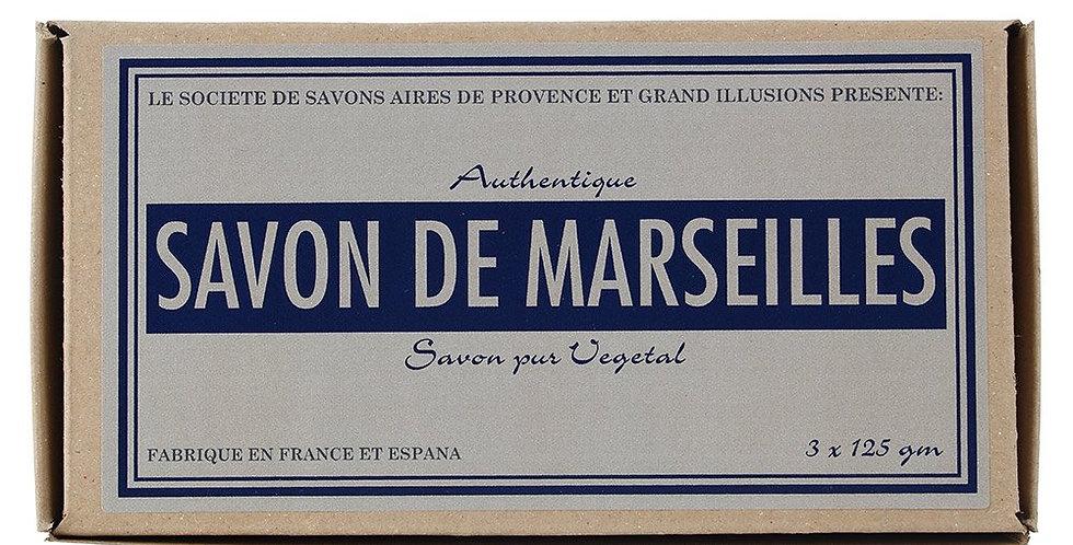 Box of 3 Savon de Marseille Soaps
