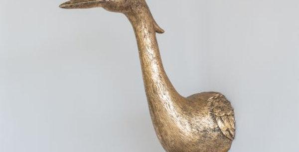 Golden Heron Wall Art