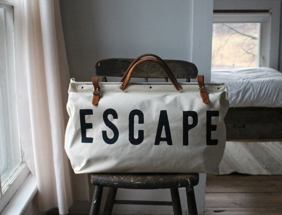 ESCAPE Canvas Utility Bag by Forest Bound
