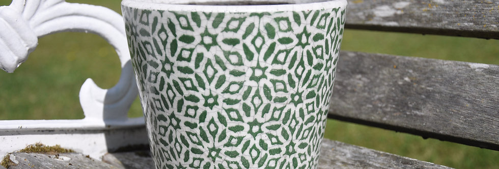 Old Style Dutch Pots Green Design