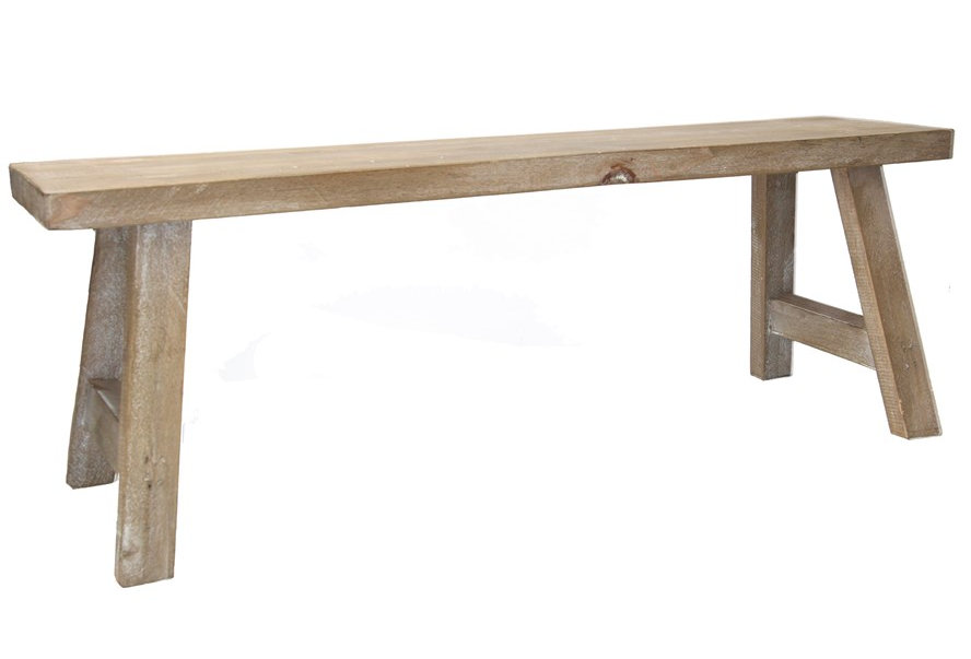 Small Wooden Display Bench