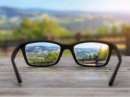 La miopía, un trastorno de visión que es hereditario.