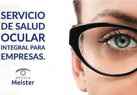 Servicio de salud ocular integral para empresas.