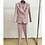 Thumbnail: Office Ladies Women's Pant suit Classic Double-Breasted Buttons