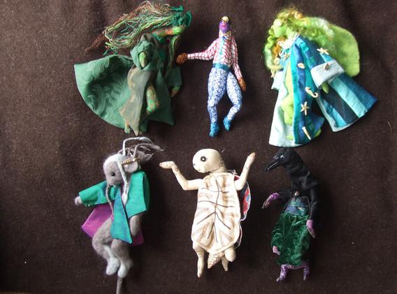 Kalila wa Dimna Textile Sculptures