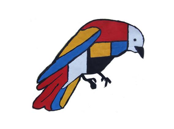 Mondrian Crow