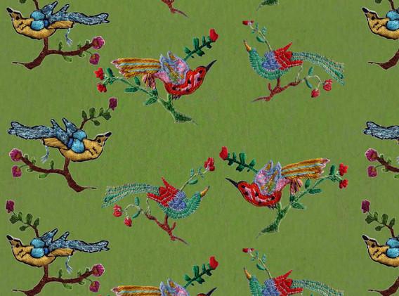 Persian Bird Design