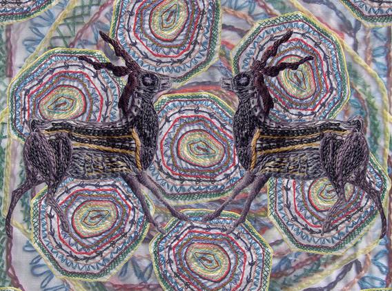 Turtle and Deer Pattern