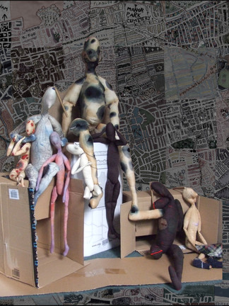 Mamon and his victims