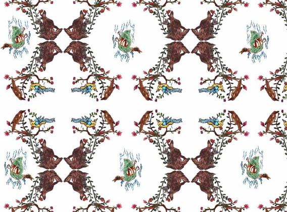 Bird and Fox Paper