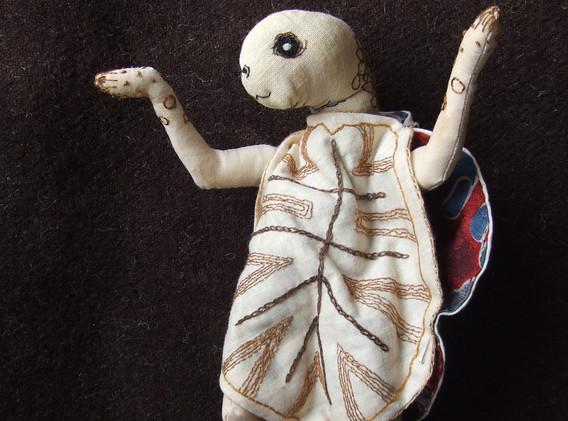 Kalila wa Dimna Textile Sculpture