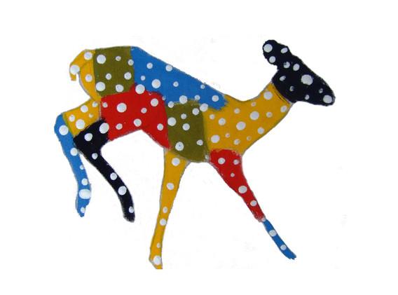 Mondrian Deer