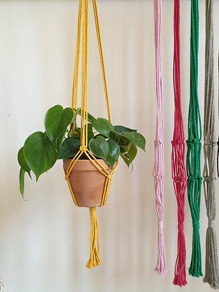 suspension classique colorée