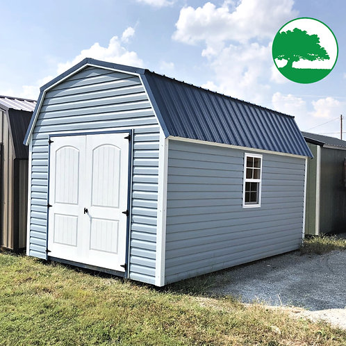 """*SOLD* PRE-OWNED 10' x 16' Vinyl """"Lofted Barn"""""""