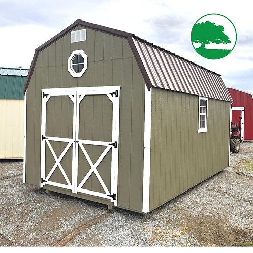"10' x 16' Painted ""Lofted Barn"""
