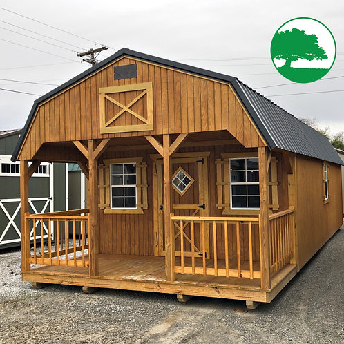 "14' x 32' Treated ""Lofted Cabin"""