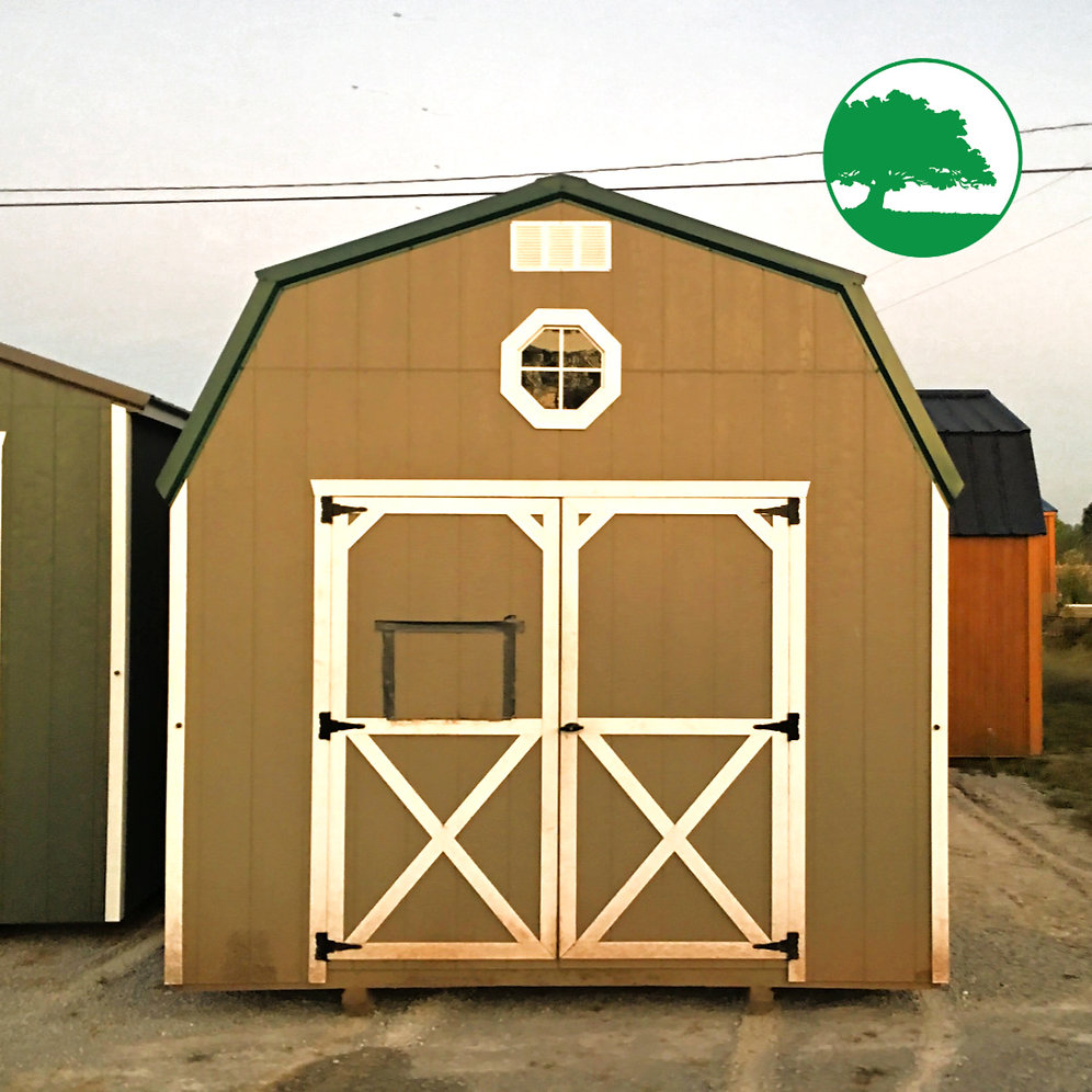 "PRE-OWNED 10' X 16' Painted ""Lofted Barn"""