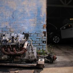 Alleyway engine