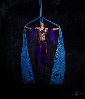 Aerial Silks Performer Entertainer
