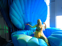 Inflatable Rental Set Pieces from the Circus Siren Pod