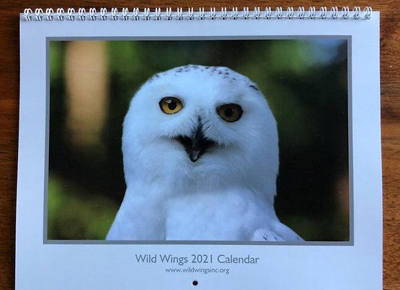 2021 Wild Wings Calendar