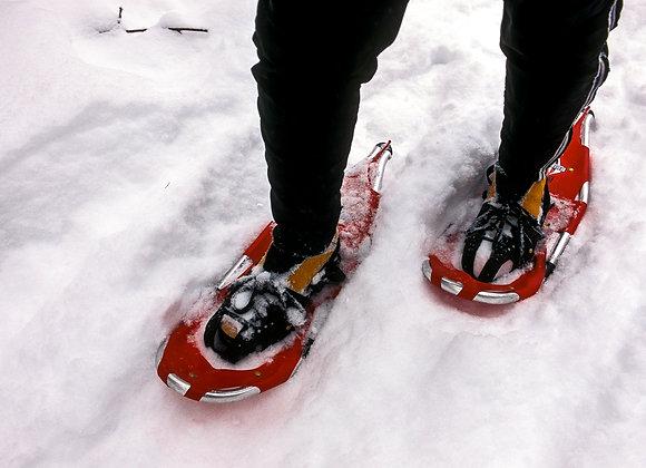 """Guided Snowshoe Hike"" Program"