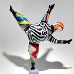 inspired by Niki de Saint Phalle 17x17x