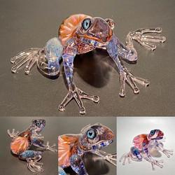 Frogger / Glass Sculpture