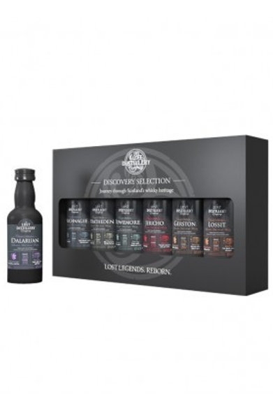 Whisky The Lost Distilleries Coffret 6*5cl