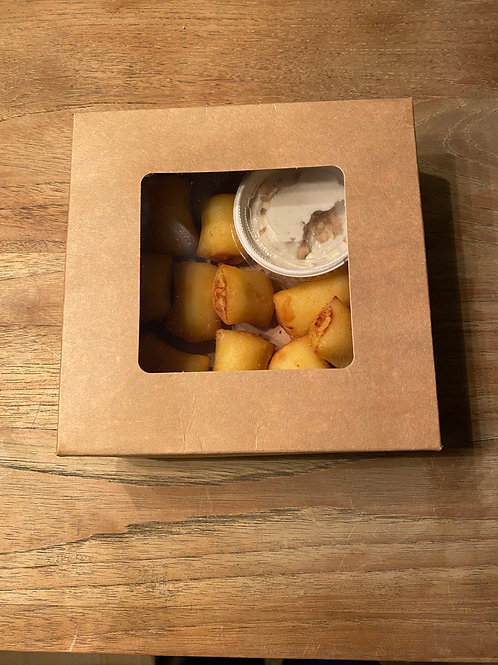 Gnocchi aux fromages, crème de gorgonzola noix et parmesan
