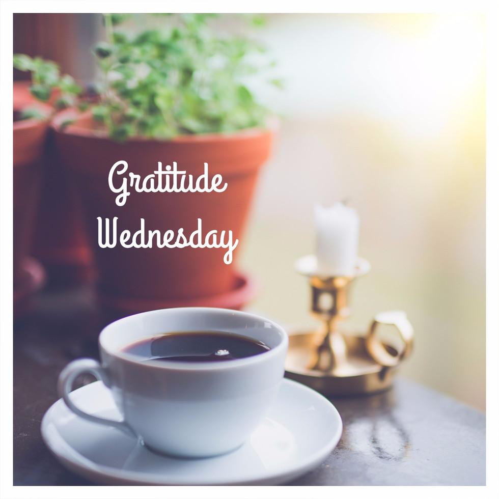 Gratitude Wednesday!