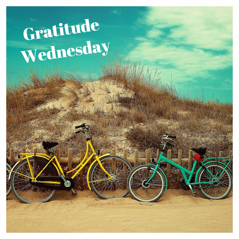 Gratitude Wednesday: Summer Bike Rides